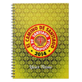 El Camino De Santiago 2014 Spiral Notebook