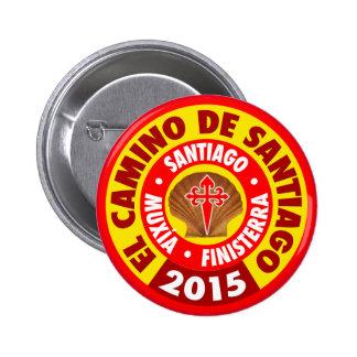 El Camino de Santiago 2015 Button