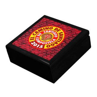 El Camino De Santiago 2015 Jewelry Box