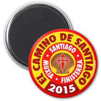El Camino De Santiago 2015 Magnet