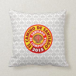 El Camino De Santiago 2015 Throw Pillow
