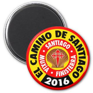 El Camino De Santiago 2016 Magnet