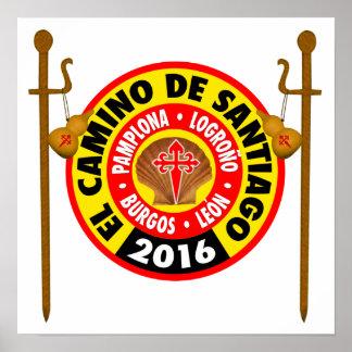 El Camino de Santiago 2016 Poster