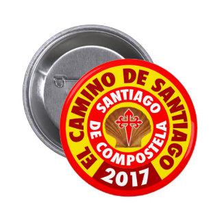 El Camino de Santiago 2017 Button