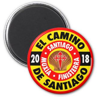 El Camino de Santiago 2018 Magnet
