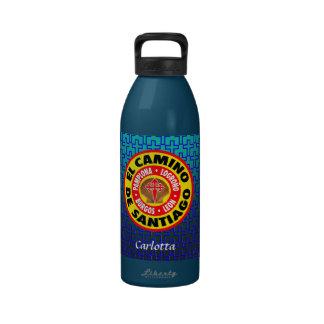 EL Camino De Santiago Botellas De Agua Reutilizables