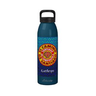 EL Camino de Santiago Botella De Agua