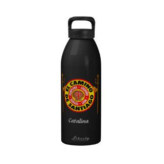 EL Camino De Santiago Botellas De Beber