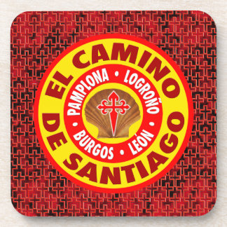 El Camino de Santiago Beverage Coaster
