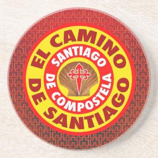 El Camino de Santiago Coaster