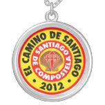El Camino de Santiago de Compostela 2012 Custom Necklace
