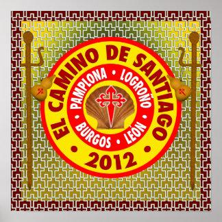 El Camino de Santiago de Compostela 2012 Poster