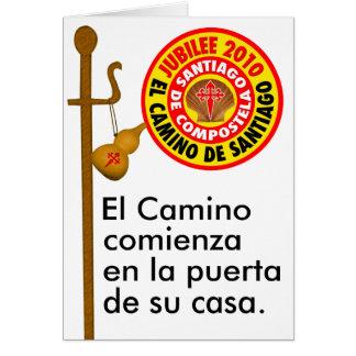 El Camino de Santiago de Compostela Cards