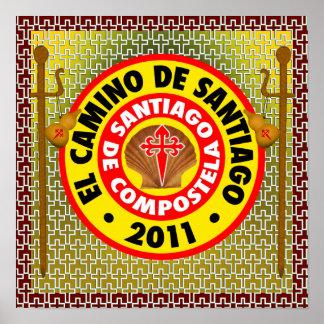 EL Camino de Santiago de Compostela Impresiones