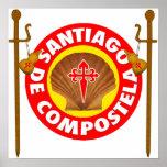 EL Camino de Santiago de Compostela Póster