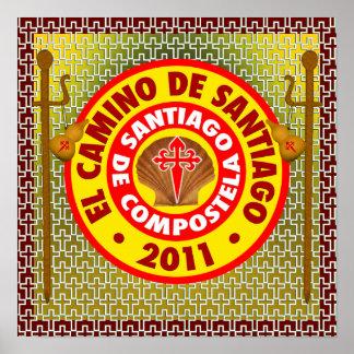 EL Camino de Santiago de Compostela Posters
