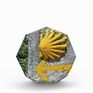 El Camino de Santiago de Compostela, Spain, shell Award