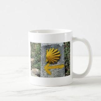 El Camino de Santiago de Compostela, Spain, shell Coffee Mug