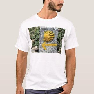 El Camino de Santiago de Compostela, Spain, shell T-Shirt