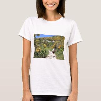 El Camino de Santiago de Compostela, Spain, trail T-Shirt