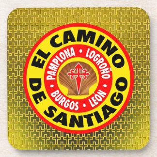 El Camino de Santiago Drink Coaster