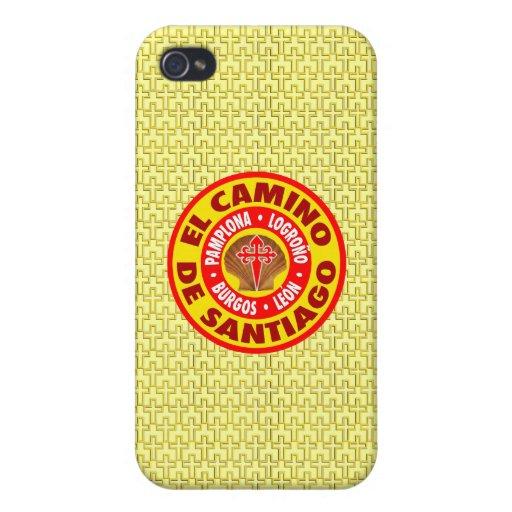 EL Camino De Santiago iPhone 4 Carcasa