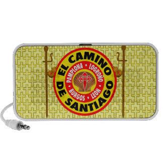 EL Camino de Santiago iPod Altavoces