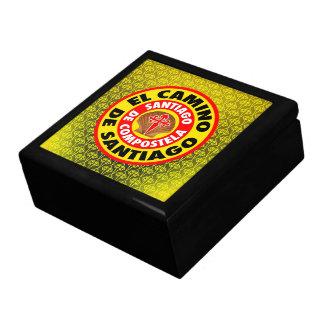 El Camino de Santiago Keepsake Box