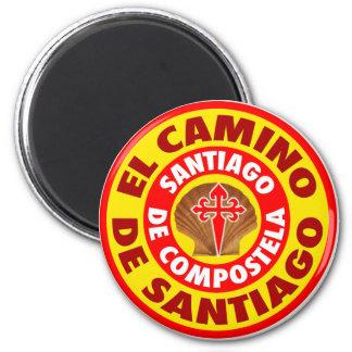 El Camino De Santiago Fridge Magnets