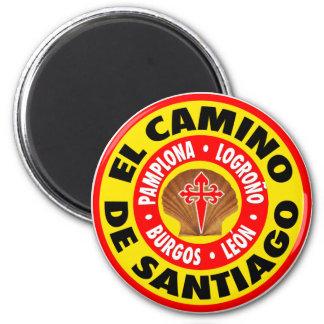 El Camino de Santiago Magnets