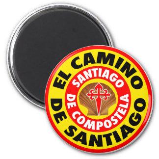 El Camino De Santiago Magnet