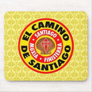 El Camino De Santiago Mouse Pad