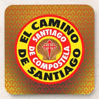 EL Camino de Santiago Posavasos De Bebidas