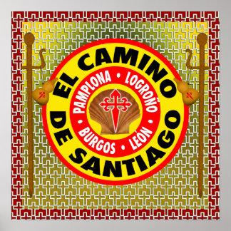EL Camino De Santiago Póster