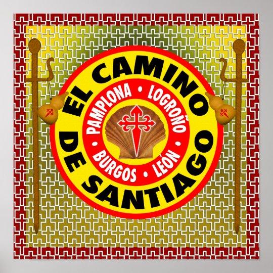 El Camino De Santiago Poster