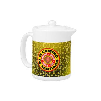 El Camino De Santiago Teapot