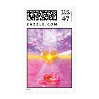 El camino del amor divino timbre postal