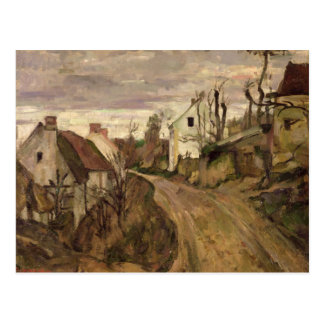 El camino del pueblo, Auvers, c.1872-73 Postales