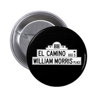 El Camino Drive, Los Angeles, CA Street Sign Button