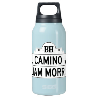El Camino Drive, Los Angeles, CA Street Sign Insulated Water Bottle