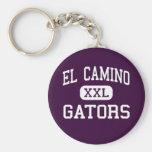 El Camino - Gators - High - Whittier California Keychain