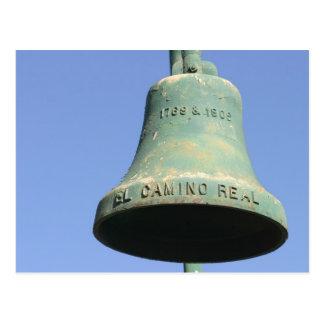 EL Camino Real 1769 y 1906 Postal