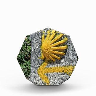 El Camino shell and arrow sign, Spain Award