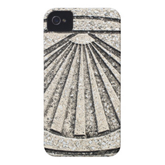 El Camino shell, pavement, Spain iPhone 4 Case