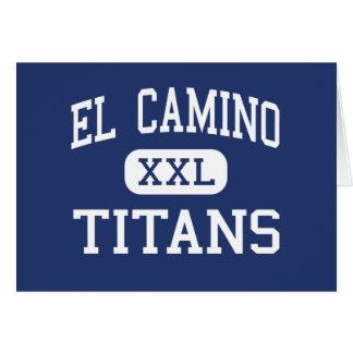 El Camino - Titans - Junior - Santa Maria Card