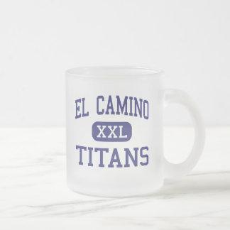 El Camino - Titans - Junior - Santa Maria Frosted Glass Coffee Mug
