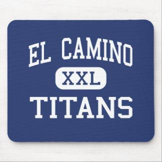 El Camino - Titans - Junior - Santa Maria Mouse Pads