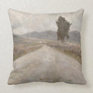 El camino toscano, c.1899 (tablero) cojin