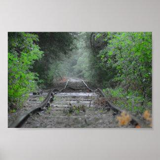 El camino viajó menos póster