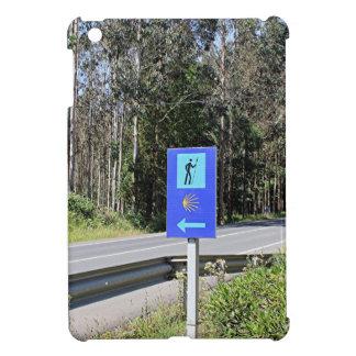 El Camino walker sign, Spain Cover For The iPad Mini